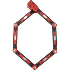 ABUS Bordo 6000/90 SH Cykellås röd/svart